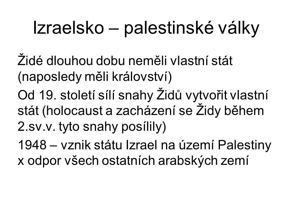 Izraelsko – palestinské války