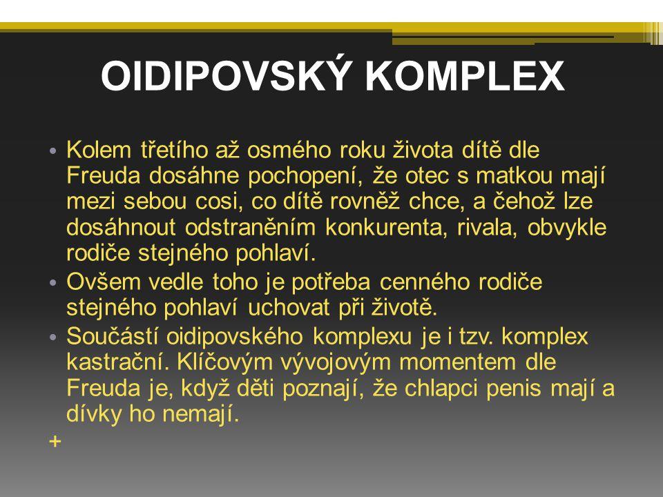 OIDIPOVSKÝ KOMPLEX