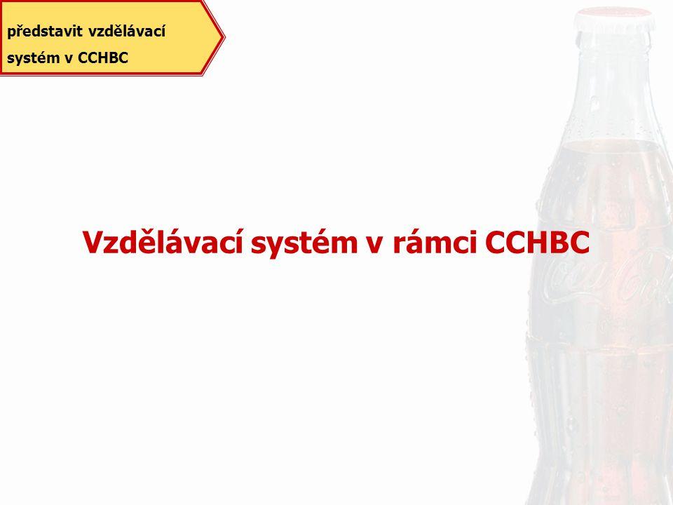 Vzdělávací systém v rámci CCHBC