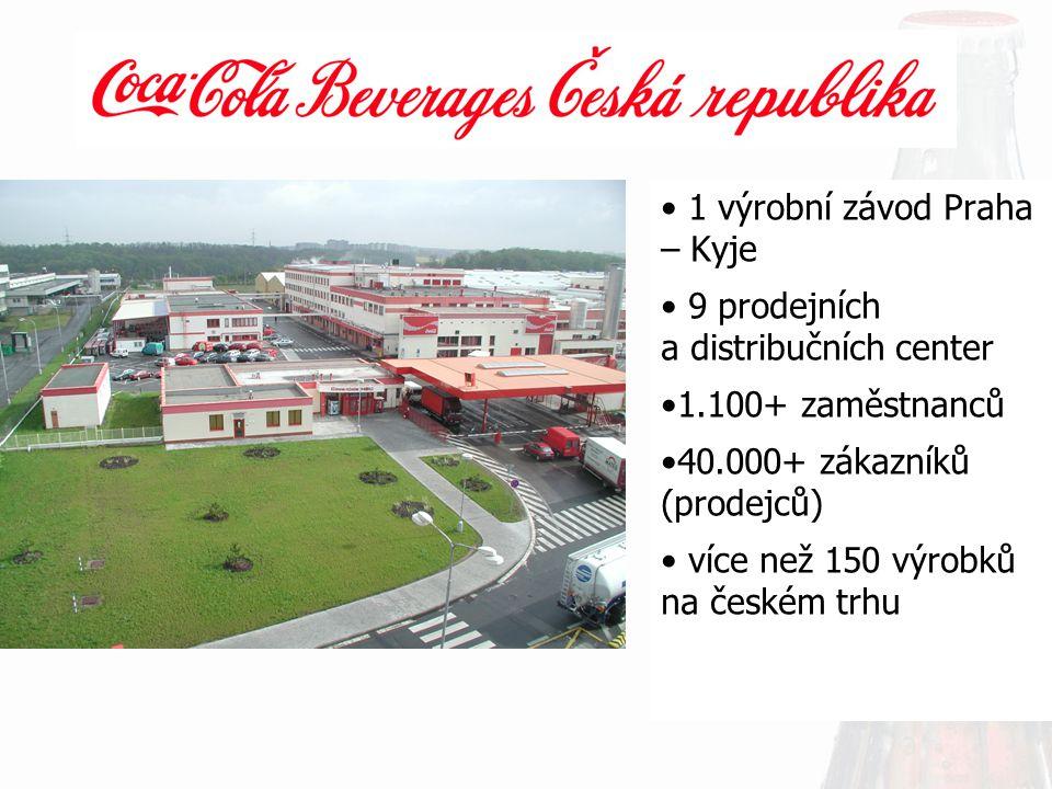 1 výrobní závod Praha – Kyje