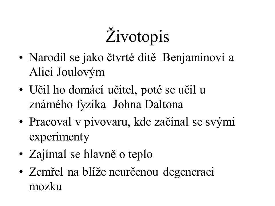 Životopis Narodil se jako čtvrté dítě Benjaminovi a Alici Joulovým