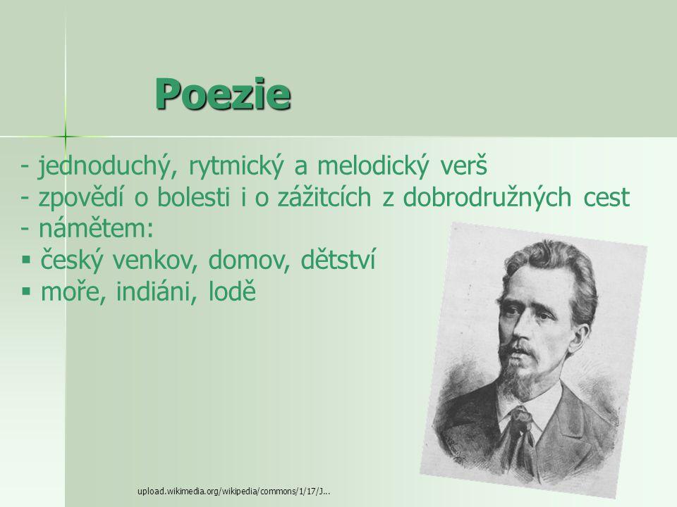 Poezie jednoduchý, rytmický a melodický verš