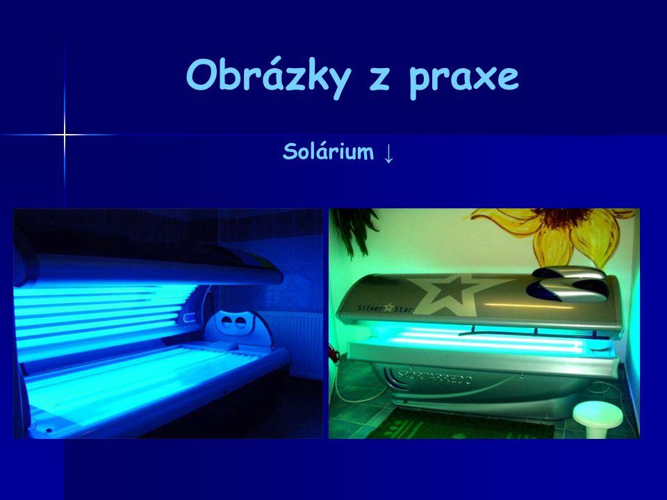 Obrázky z praxe Solárium ↓