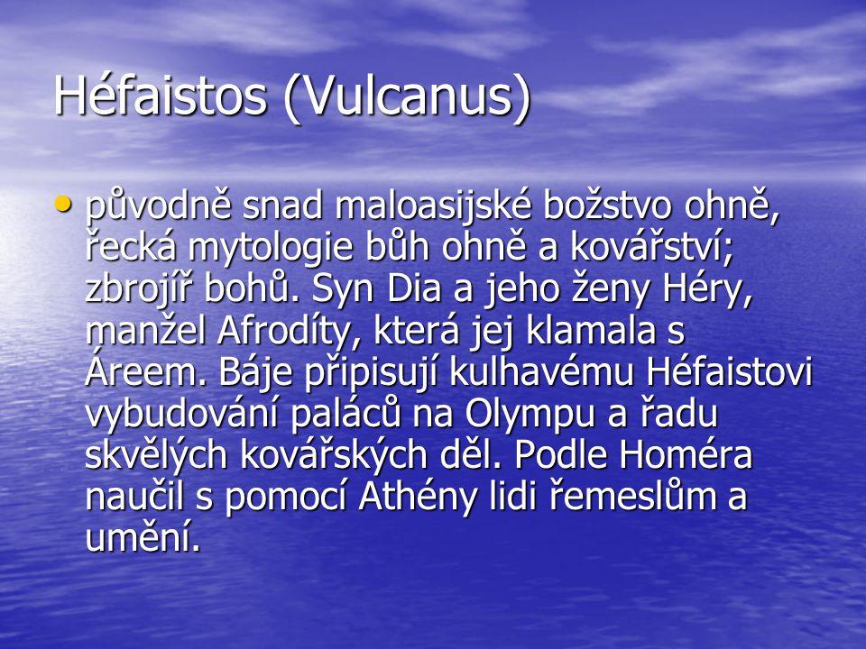 Héfaistos (Vulcanus)