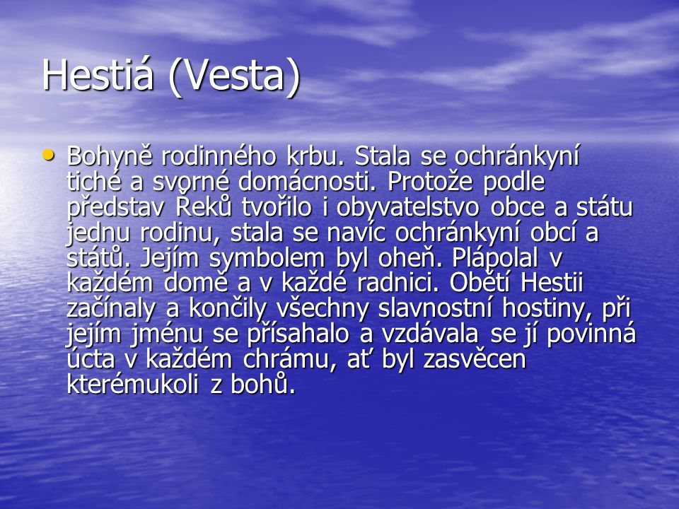 Hestiá (Vesta)