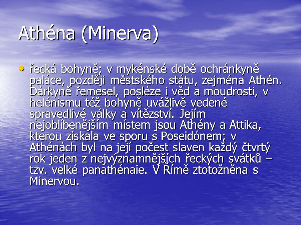 Athéna (Minerva)