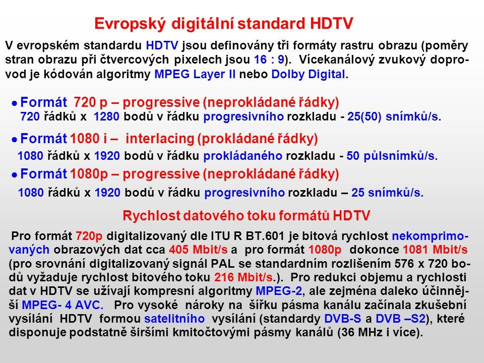 Evropský digitální standard HDTV