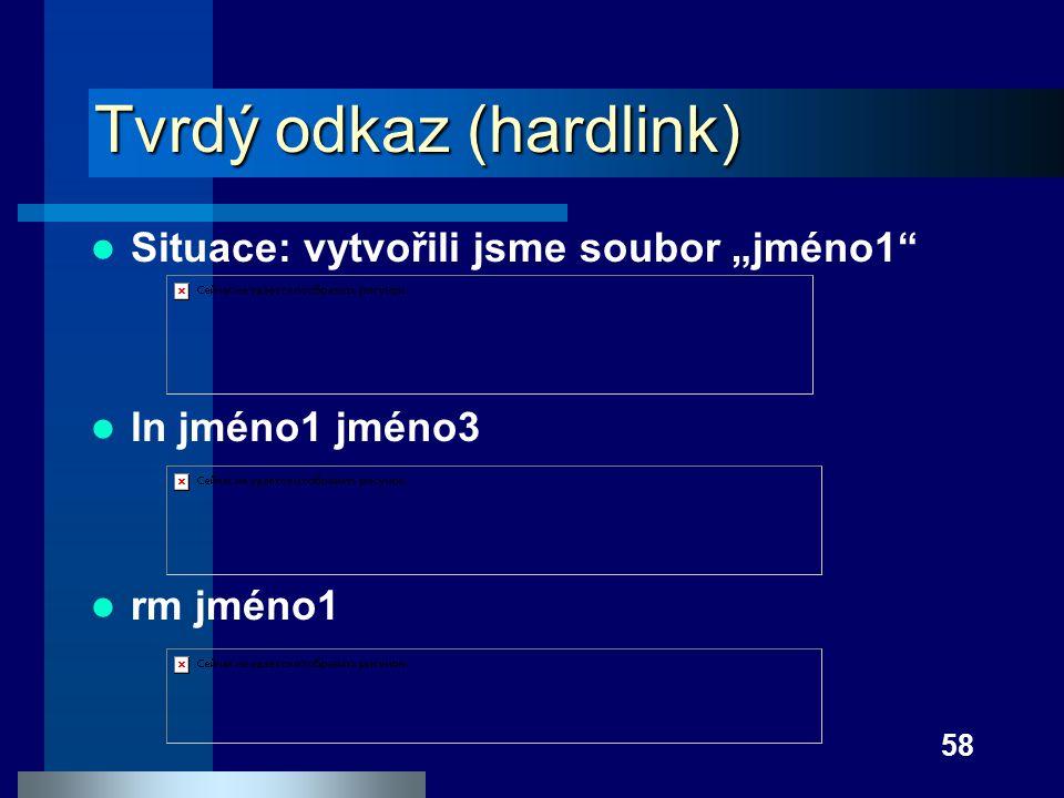Tvrdý odkaz (hardlink)