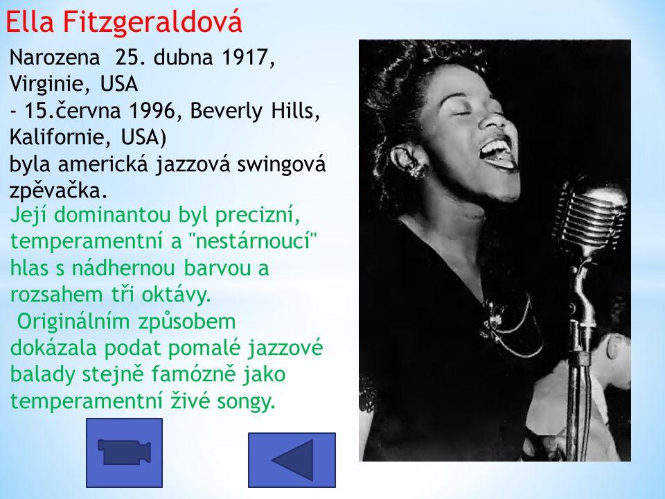 Ella Fitzgeraldová