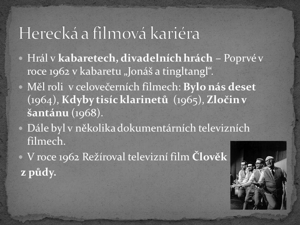 Herecká a filmová kariéra