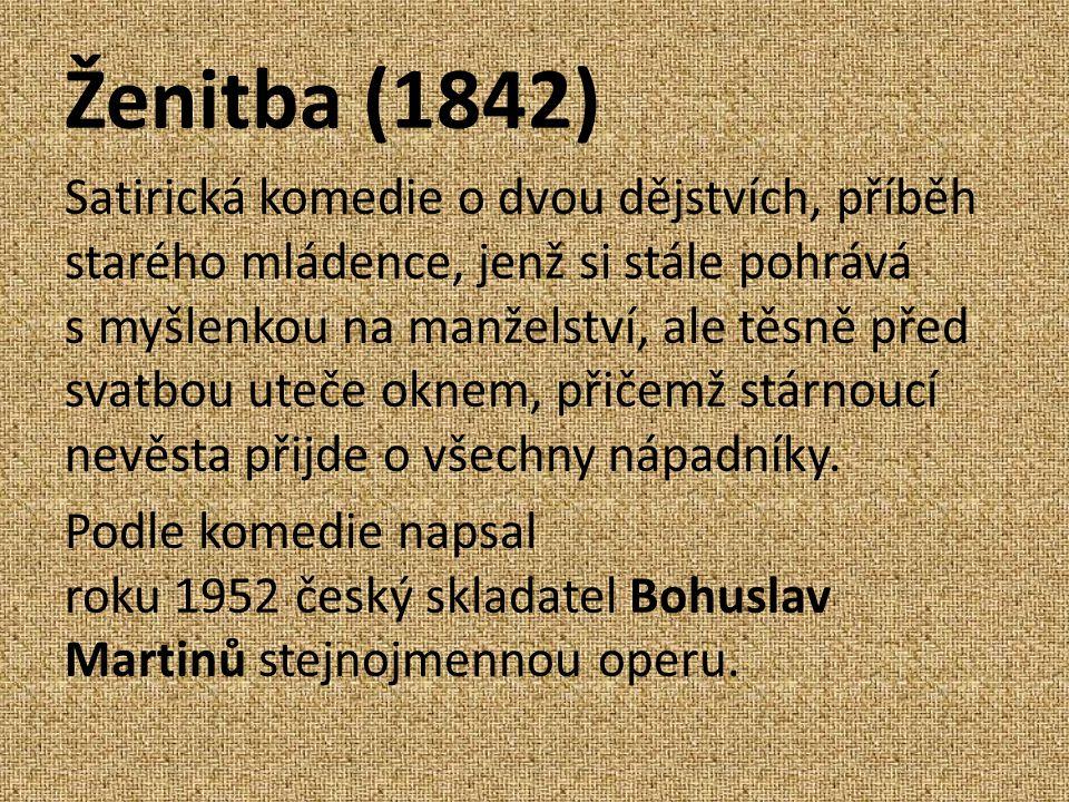Ženitba (1842)