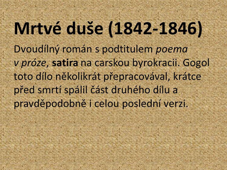 Mrtvé duše (1842-1846)