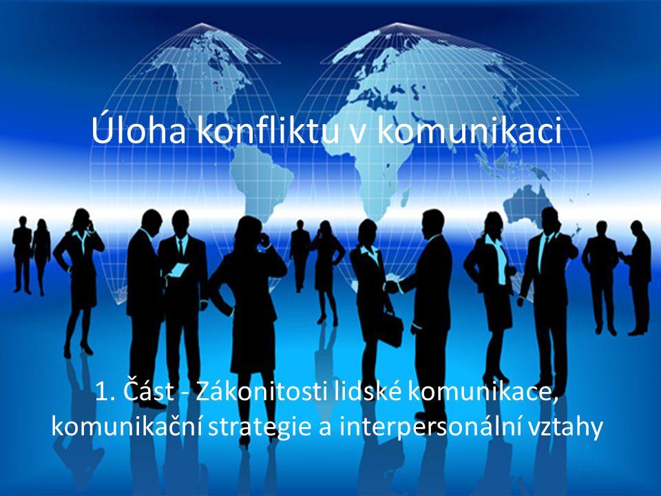 Úloha konfliktu v komunikaci