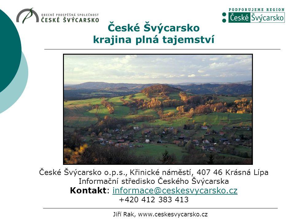 České Švýcarsko krajina plná tajemství