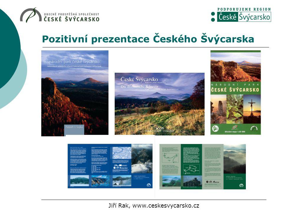 Pozitivní prezentace Českého Švýcarska