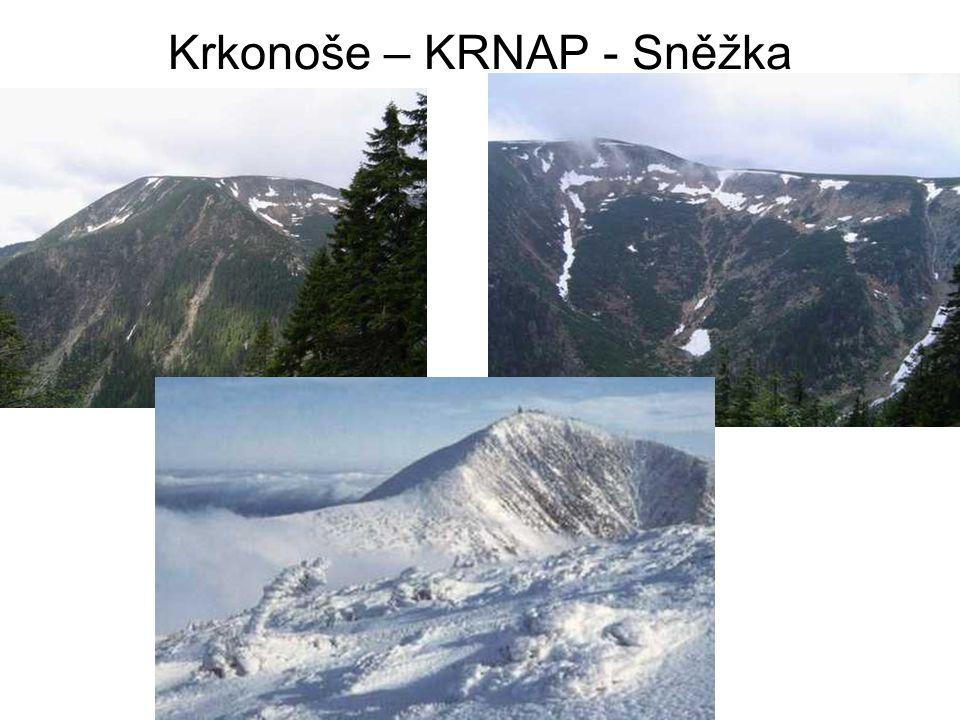 Krkonoše – KRNAP - Sněžka