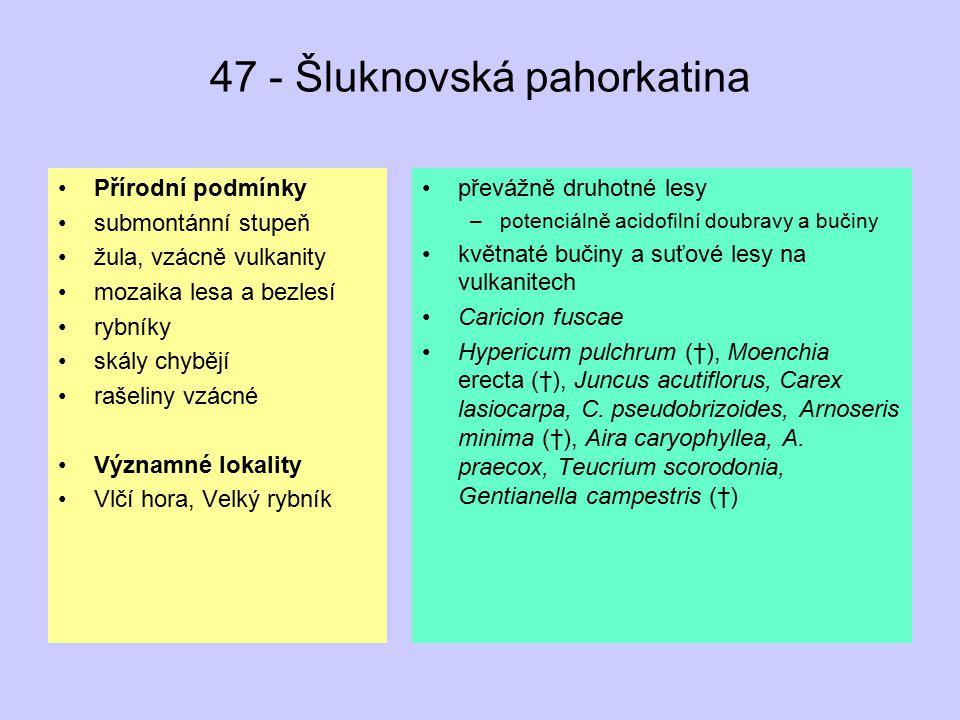 47 - Šluknovská pahorkatina