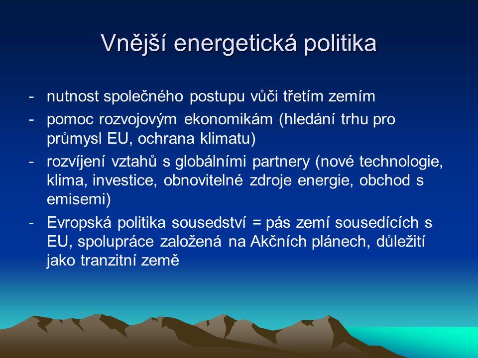 Vnější energetická politika