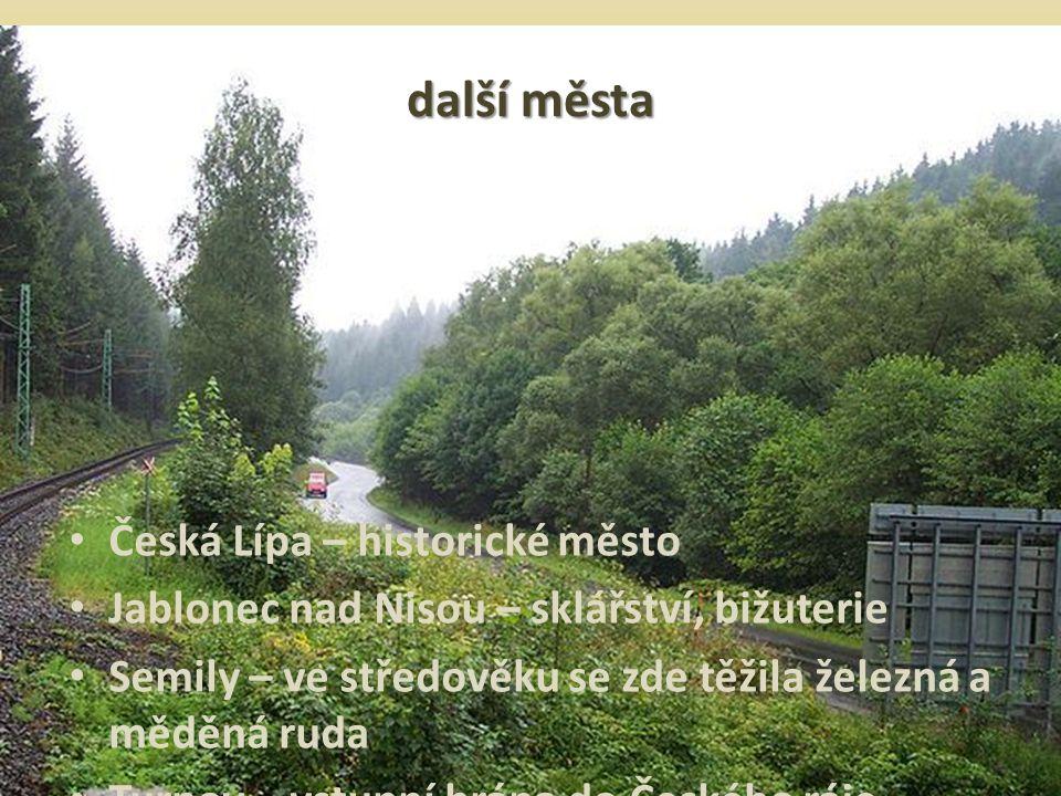 další města Česká Lípa – historické město