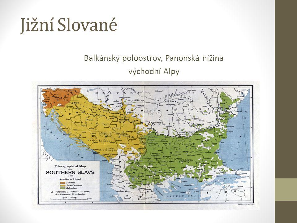 Balkánský poloostrov, Panonská nížina východní Alpy