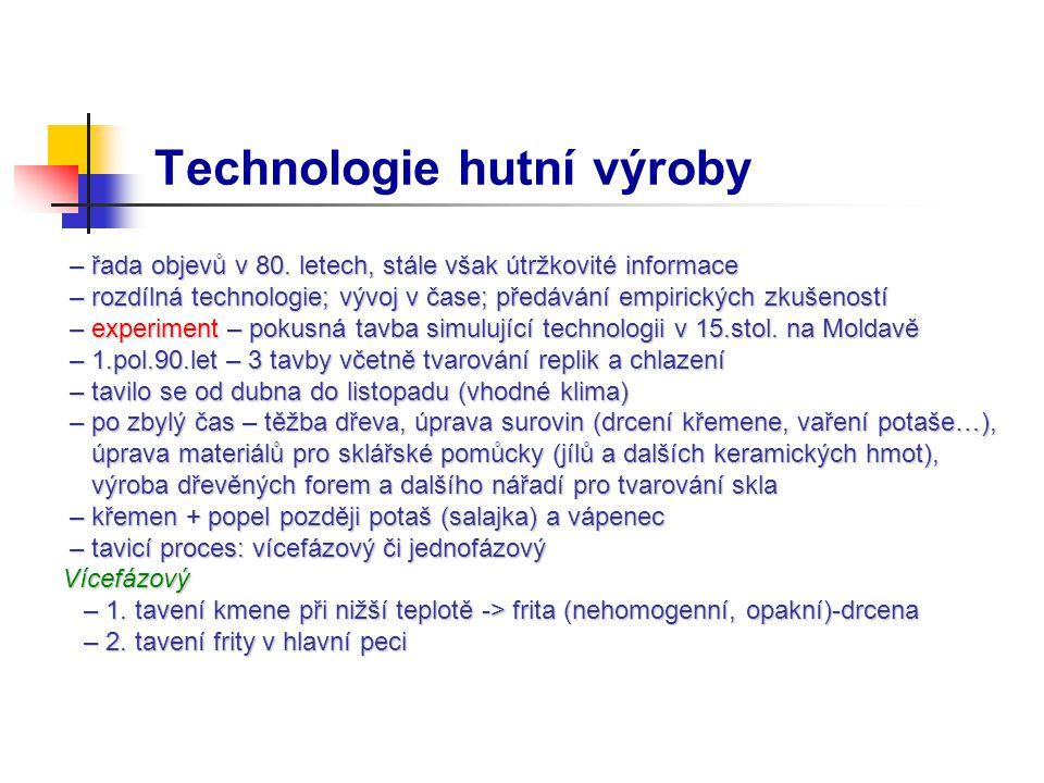 Technologie hutní výroby