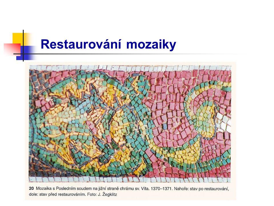 Restaurování mozaiky