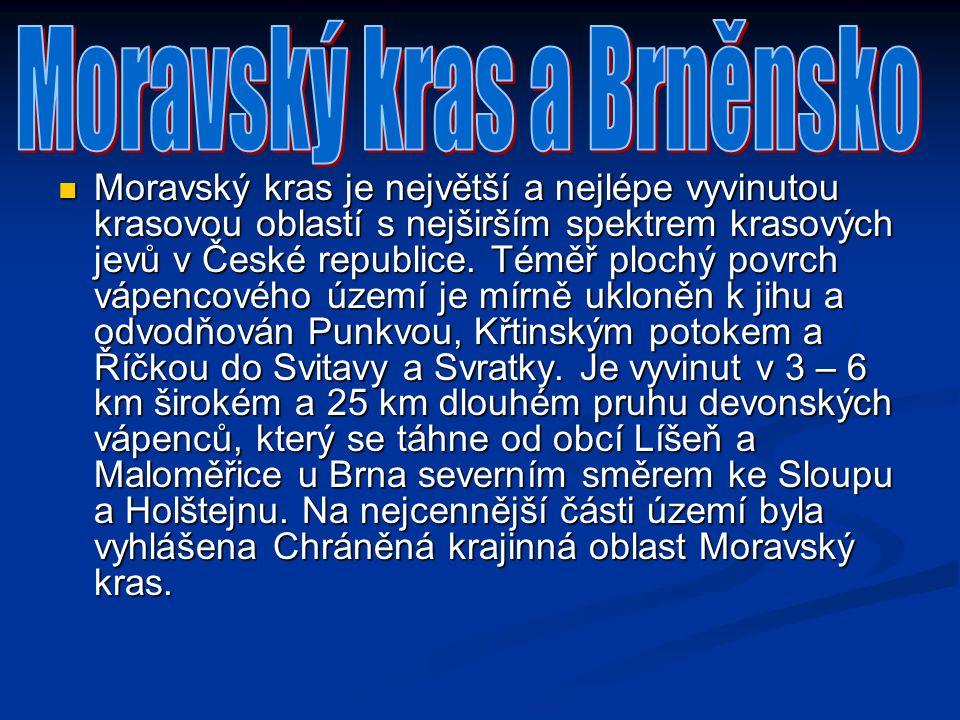 Moravský kras a Brněnsko