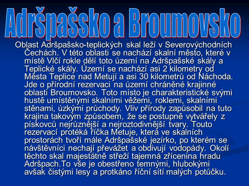 Adršpašsko a Broumovsko