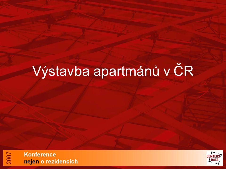 Výstavba apartmánů v ČR