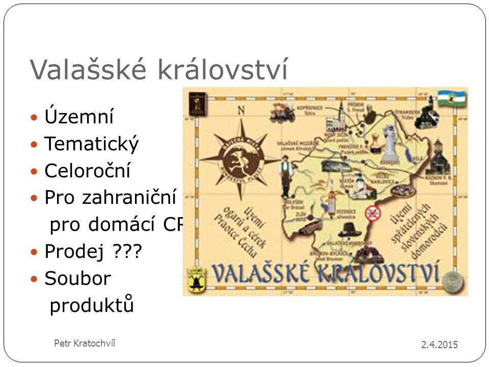 Valašské království Územní Tematický Celoroční Pro zahraniční i