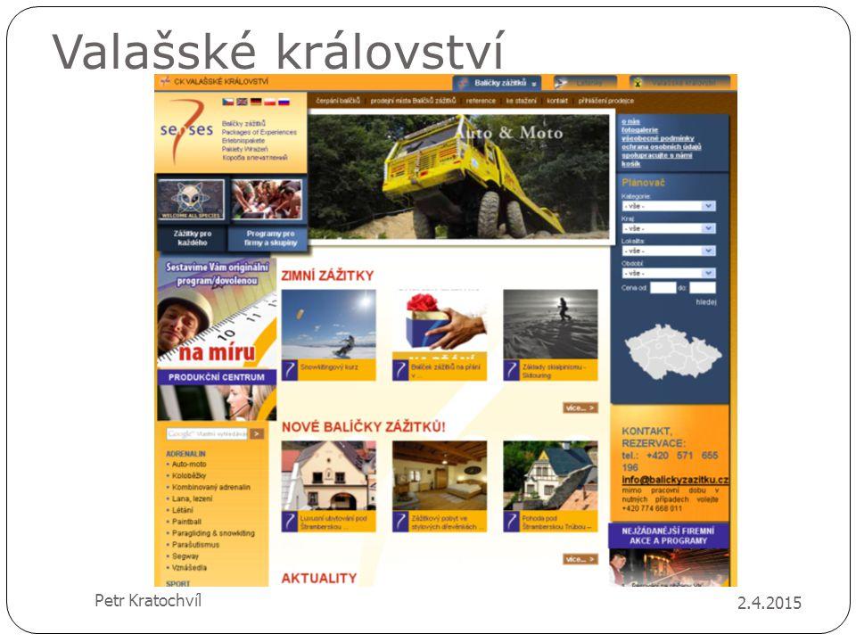 Valašské království Petr Kratochvíl 9.4.2017