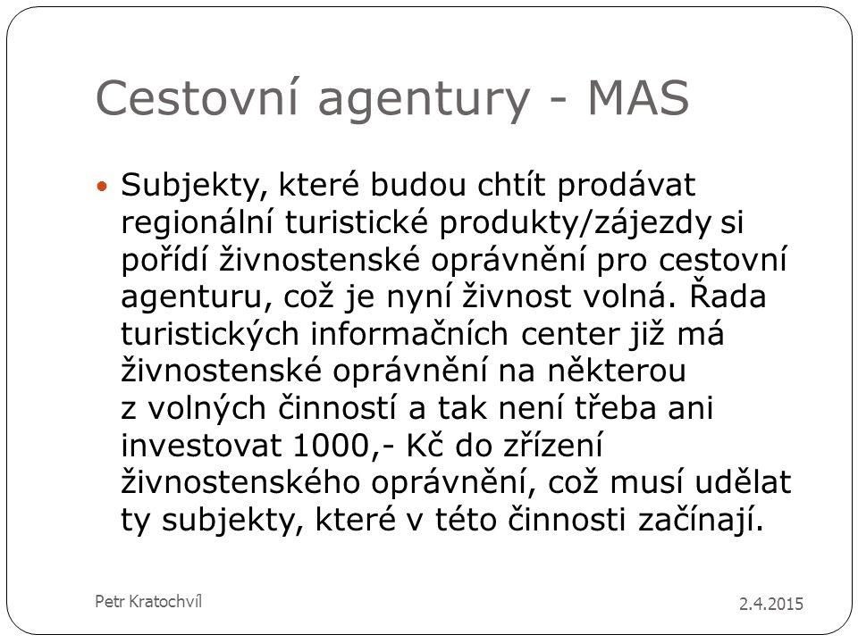 Cestovní agentury - MAS