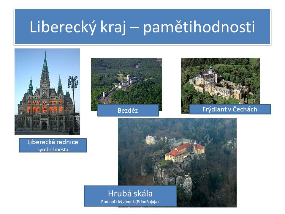 Liberecký kraj – pamětihodnosti