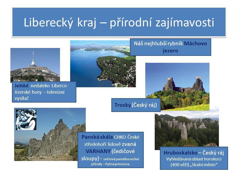 Liberecký kraj – přírodní zajímavosti