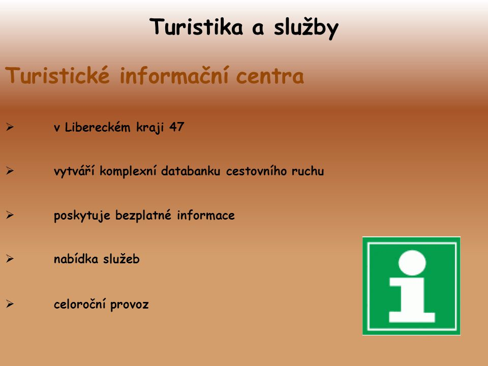 Turistické informační centra
