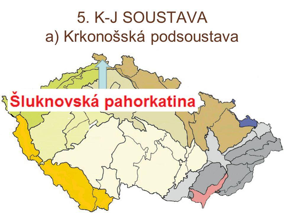 5. K-J SOUSTAVA a) Krkonošská podsoustava