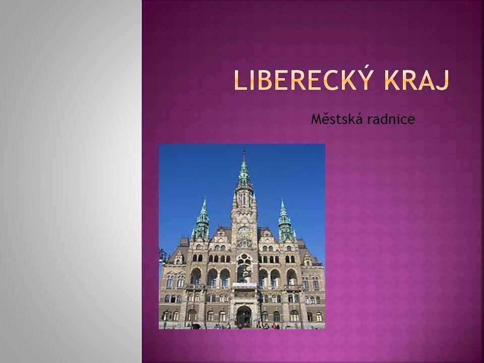 Liberecký kraj Městská radnice