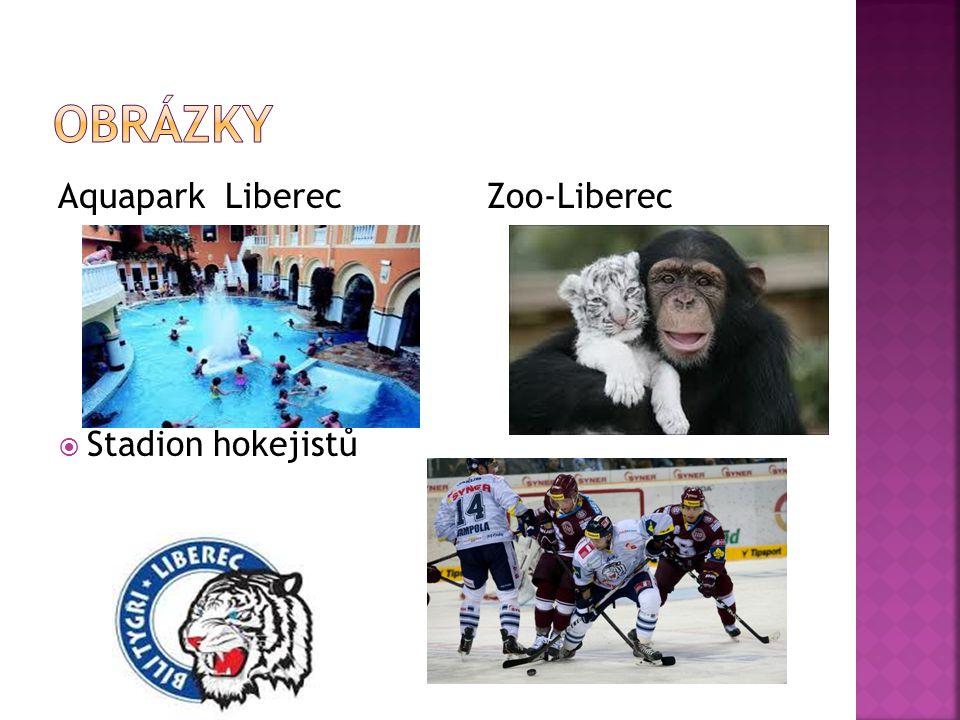 OBRÁZKY Aquapark Liberec Zoo-Liberec Stadion hokejistů