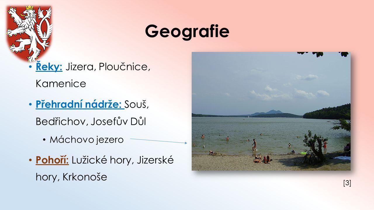 Geografie Řeky: Jizera, Ploučnice, Kamenice