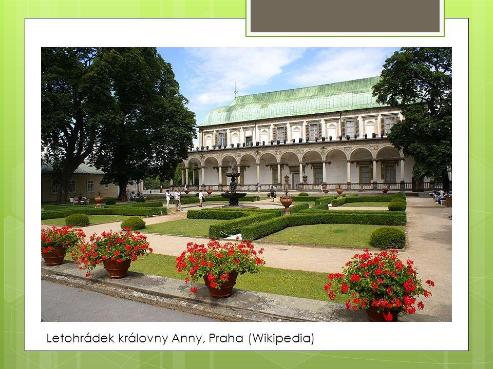 Letohrádek královny Anny, Praha (Wikipedia)