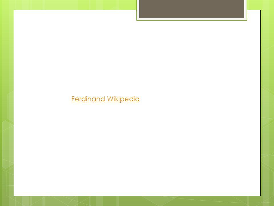 Ferdinand Wikipedia