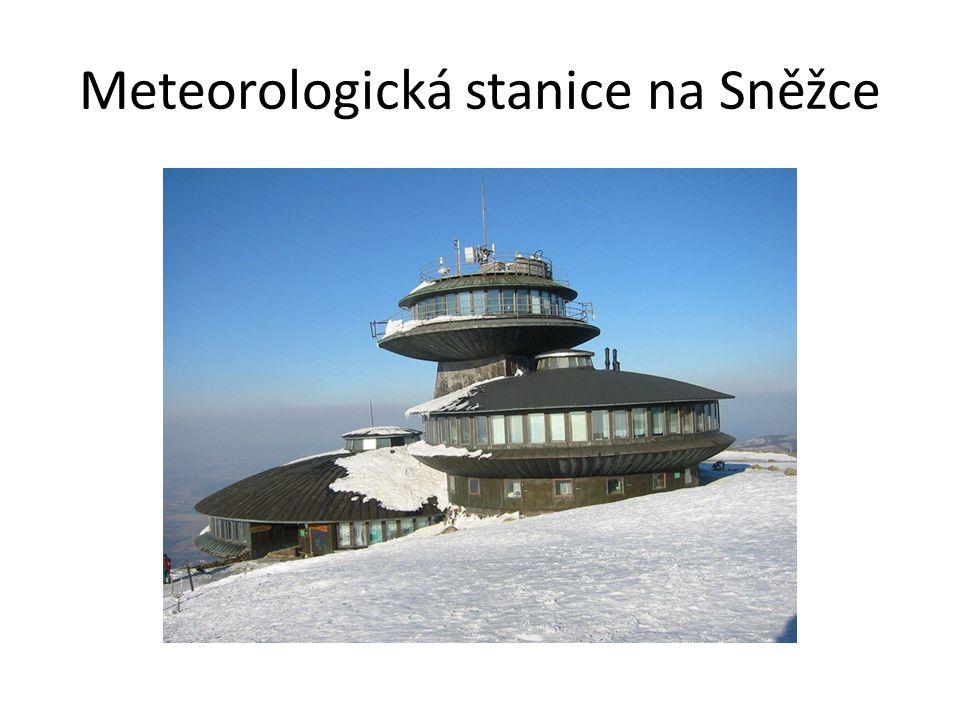 Meteorologická stanice na Sněžce