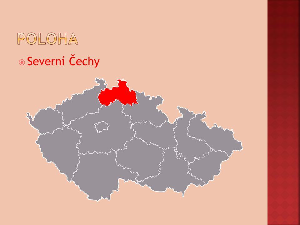 poloha Severní Čechy