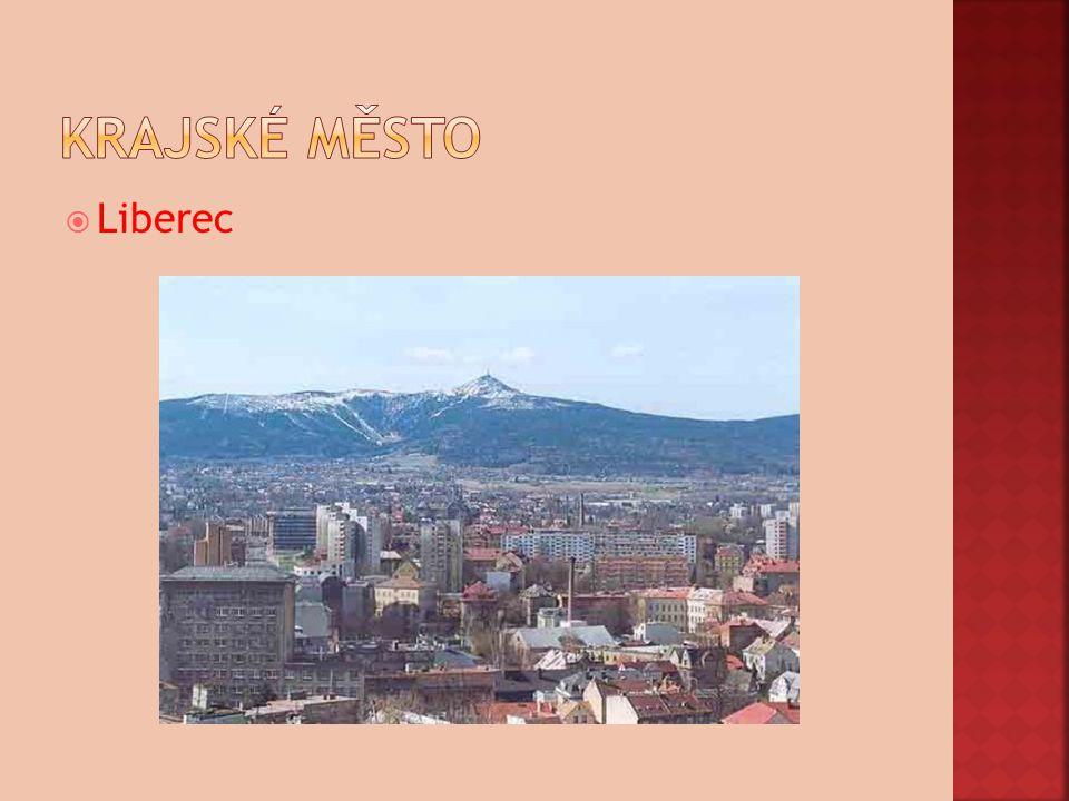 Krajské město Liberec
