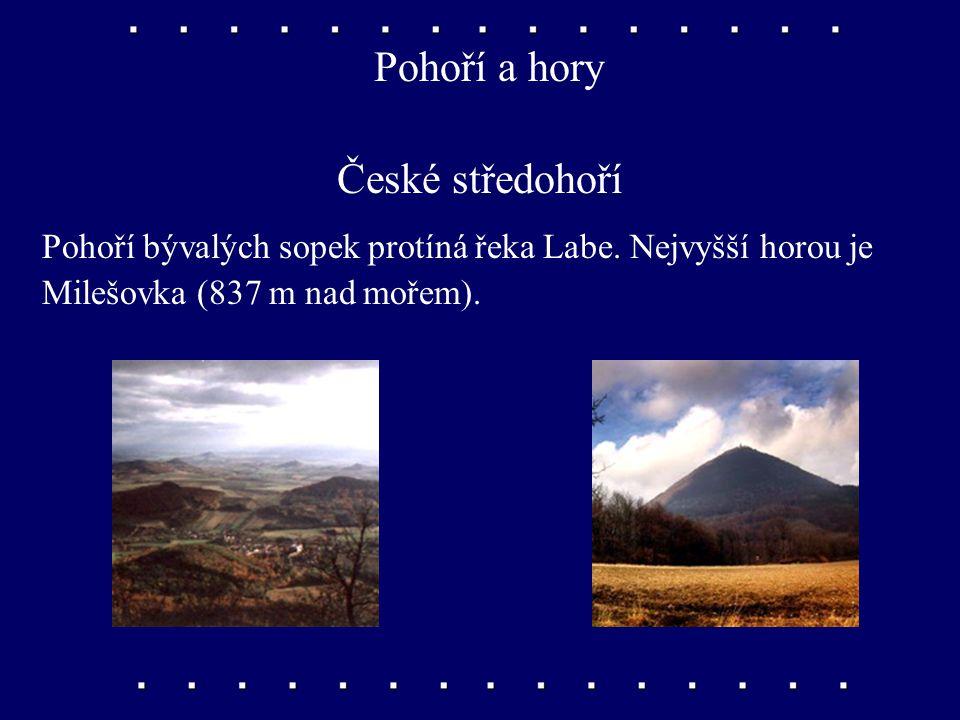 Pohoří a hory České středohoří