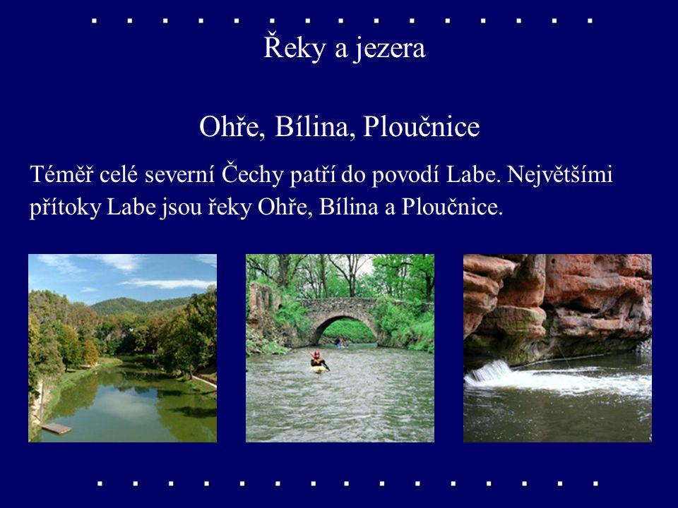 Řeky a jezera Ohře, Bílina, Ploučnice