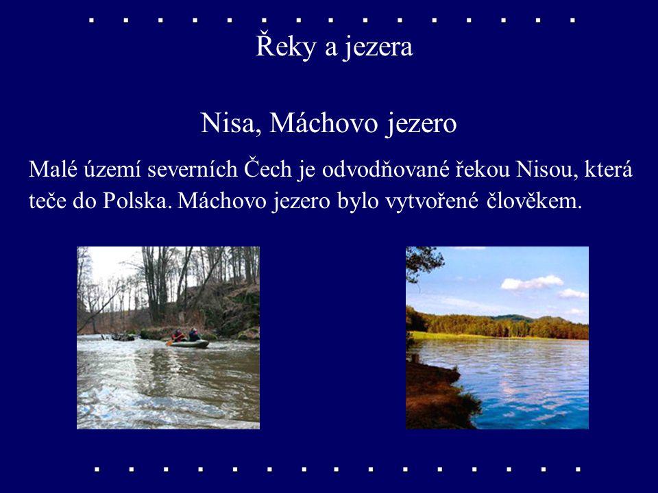 Řeky a jezera Nisa, Máchovo jezero