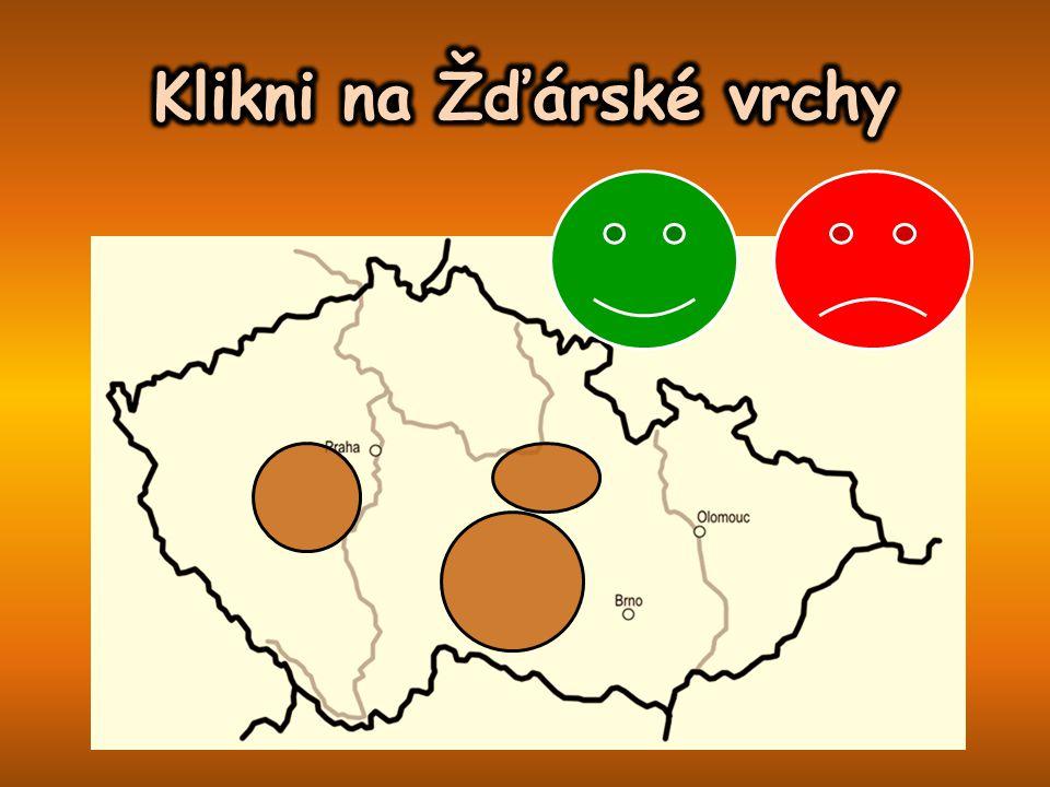 Klikni na Žďárské vrchy