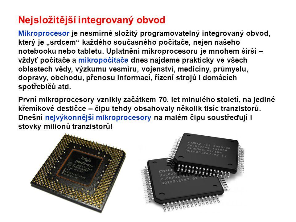 Nejsložitější integrovaný obvod