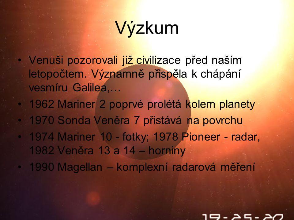 Výzkum Venuši pozorovali již civilizace před naším letopočtem. Významně přispěla k chápání vesmíru Galilea,…